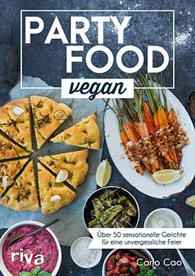 veganes partyfood, rezepte und tipps